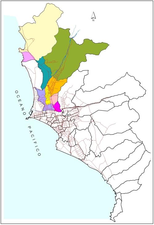 Lima Norte y su ubicación en Lima Metropolitana
